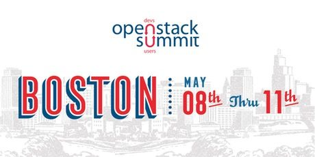 OpenStack Summit Boston - Monday Sessions